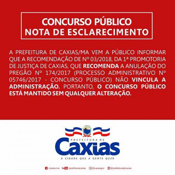 0757dba41d05 Está longe o final da novela que cerca o concurso público realizado mês  passado pela Prefeitura de Caxias. Mais parece um enredo de folhetim  mexicano.